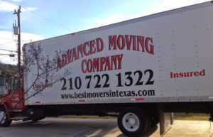 picture of a truck used by san antonio movers